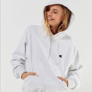 Urban outfitters grey champion hoodie